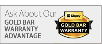 Ask about our Gold Bar Warranty.