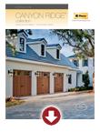 Canyon Ridge Product Brochure
